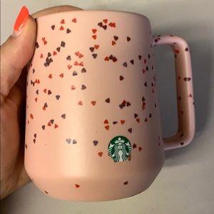 Starbucks heart porcelain mug valentines